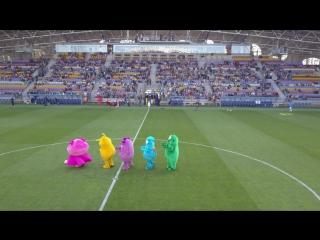 Бонстики на футболе  (04.06.2017)