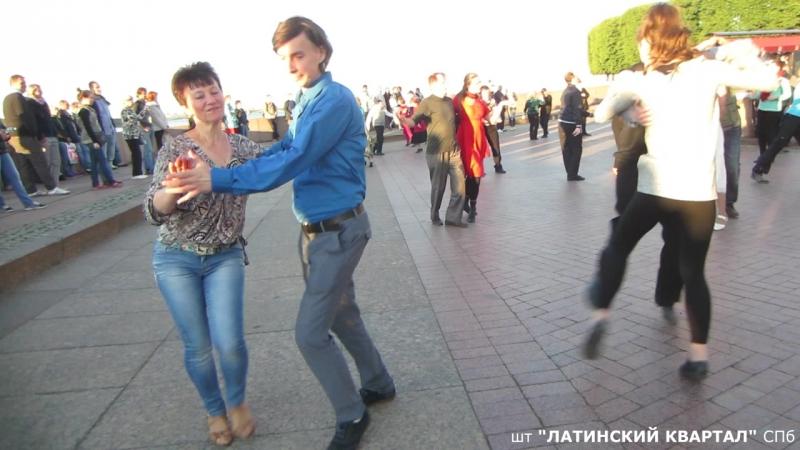 Джайв Бальные танцы на Стрелке В О по пятницам