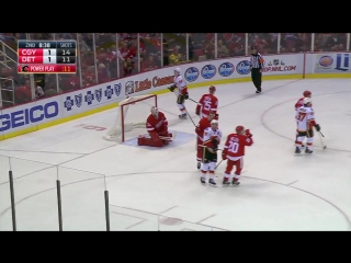 The Calgary Flames at the Detroit Red Wings | 21.11.2016