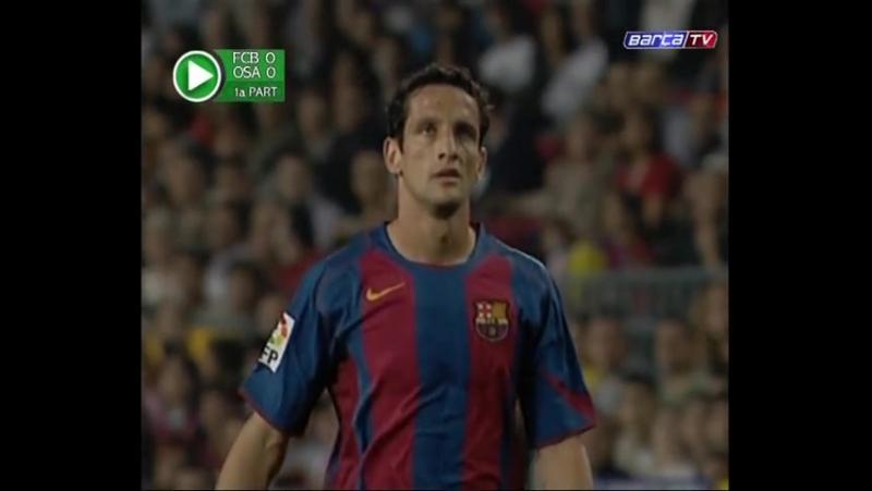 ЧИ 2004 05 8 тур Барселона Осасуна 3 0