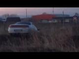 Пьяный водитель заснул в машине после аварии