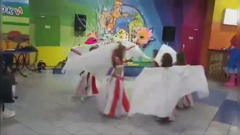 танец платки Игроленд