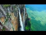 Самый высокий водопад в мире сняли с дрона ..