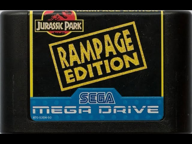 Jurassic Park: Rampage Edition (Mega Drive/ Genesis)/ longplay/ comments