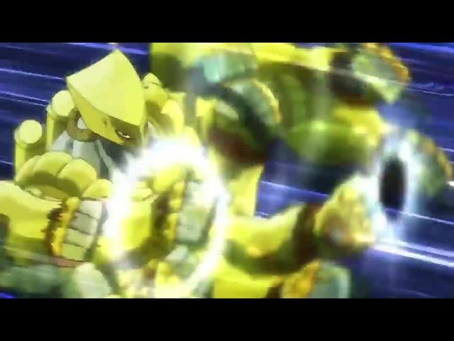 Dio vs Jotaro Leaked Original SFX · coub, коуб