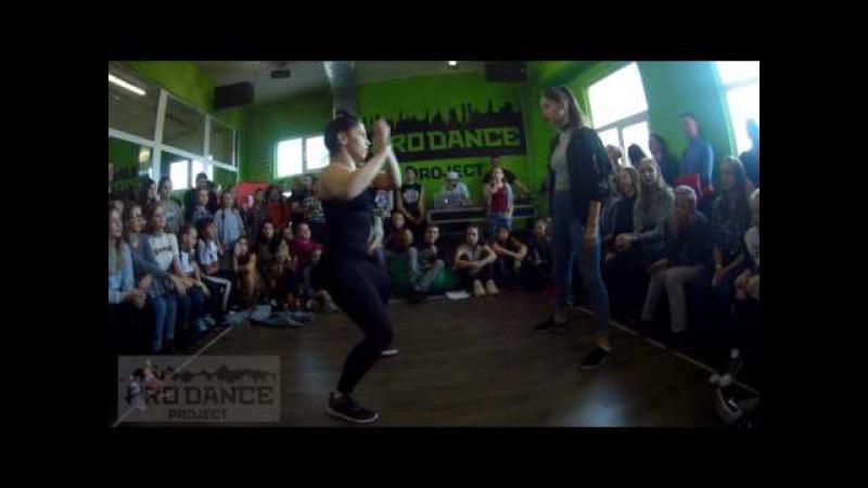 LEVEL UP BATTLE / DANCEHALL PRO / 1/8 / BRU' LIZA vs BOBRITSA