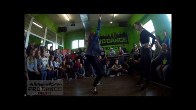 LEVEL UP BATTLE / DANCEHALL PRO / 1/8 / LIZA vs JAY