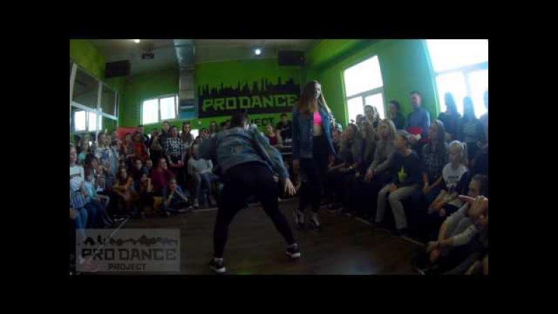 LEVEL UP BATTLE / DANCEHALL PRO / 1/4 / BRU' LIZA vs JAY