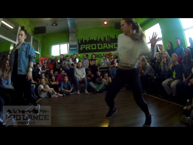 LEVEL UP BATTLE / DANCEHALL PRO / 1/2 / BRU' LIZA vs POLINA