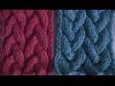 узор коса с 9 петель. braid pattern with 9 loops.