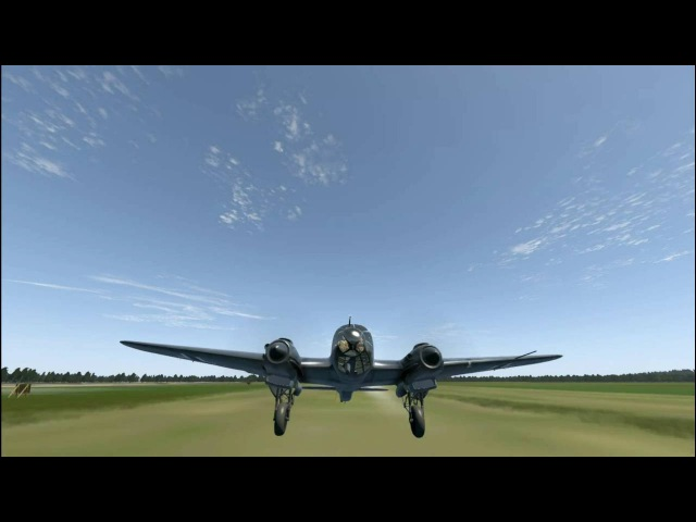 Одиночный вылет на сервере ATAG. He-111H-2.