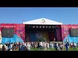 Олег Иванов на фестивале Русское поле с песней Девушка из Полесья - Олеся