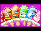 Робокар Поли. Мультик. Учим цвета. Мороженое. Learn Colors. Robocar Poli.