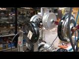 Сравнение  моторов на шум  Bafang  и Электра