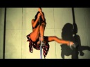 Красивая девушка полдэнсер Exotic Pole Dance танец на пилоне Обувь стрипы Pleaser
