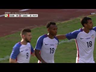 MNT vs. Cuba: Julian Green Goal - Oct. 7, 2016