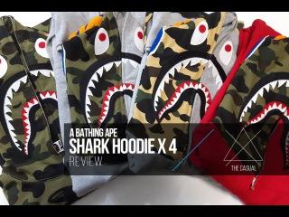 Bape Shark Hoodie Review x 4, Legit Check Tips, Sizing