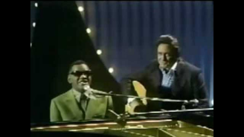Johnny Cash Ray Charles - Busted