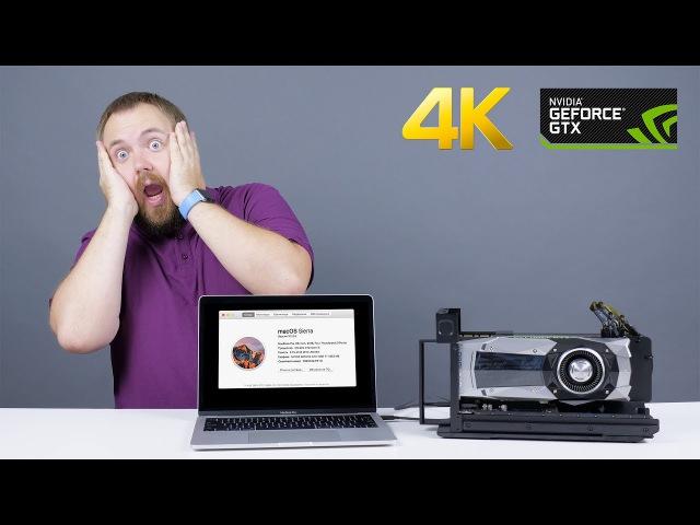 Внешняя видеокарта eGPU для Apple MacBook - реально?