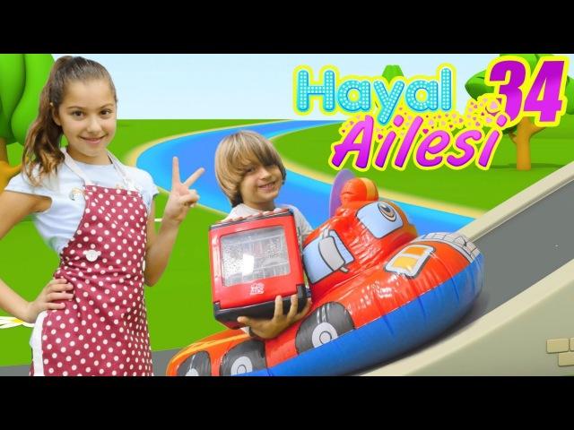 Çocuk dizisi türkçe. Hayal Ailesi Bulaşık Makinesi alıyor. Annebabaoyunu