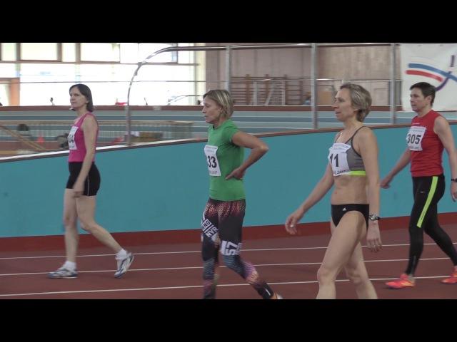 Бег 60 м. Женщины - Чемпионат России по лёгкой атлетике среди ветеранов (атлетов старше 35 лет)