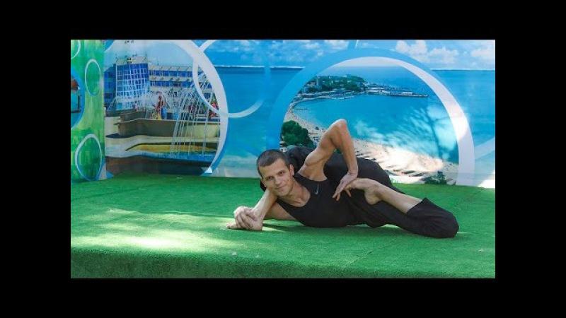 ХаTха йога, продвинутый уровень (преподаватель йоги Александр Яцун)
