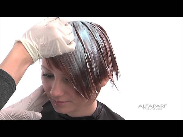 Alfaparf Milano USA - Supermeches Bleaching Technique 4: Surf Lightening