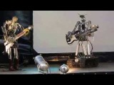 Robotic Blues AC DC Cover live in Moscow, Russia 2015 - Amazing!