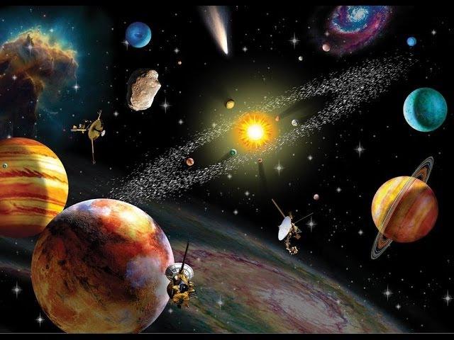7 чудес Солнечной системы - самые фантастические объекты и явления космического ...