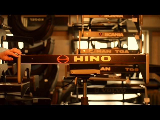 Стол | полка в кабину Hino 500 малый