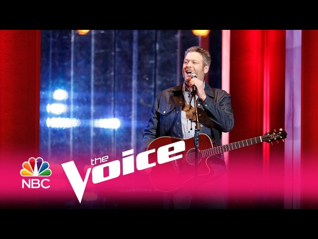 "Blake Shelton: ""Every Time I Hear That Song"" - The Voice 2017"