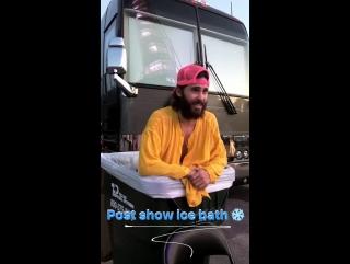 10.06.2017 | Джаред после выступления в Остине, штат Техас, США