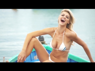 Келли рорбах (kelly rohrbach) на съёмках sports illustrated swimsuit 2016 (1080p)