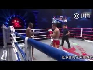 Cedric Manhoef vs. Yodsanklai Fairtex, Kunlun Fight 61 (13.05.2017)
