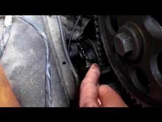 Ремонт ВАЗ 2109. Замена ремня ГРМ, замена помпы ВАЗ, замена сальников.