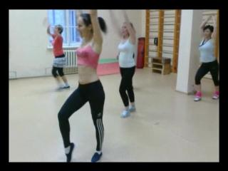 Salsa - tonifica con zumba (сальса-зумба) para perder peso. г.епвтаория