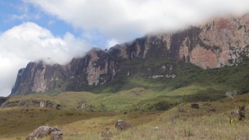 Затерянный мир и Долина кристаллов, Гора Рорайма, Венесуэла