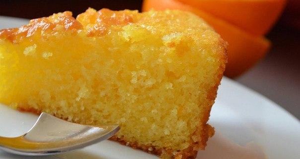 Апельсиновый пирог рецепт с фото