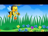 Жу-жу. Песенка пчёлки. Песенка мультик видео для детей  - Bees song cartoon. Наше всё!