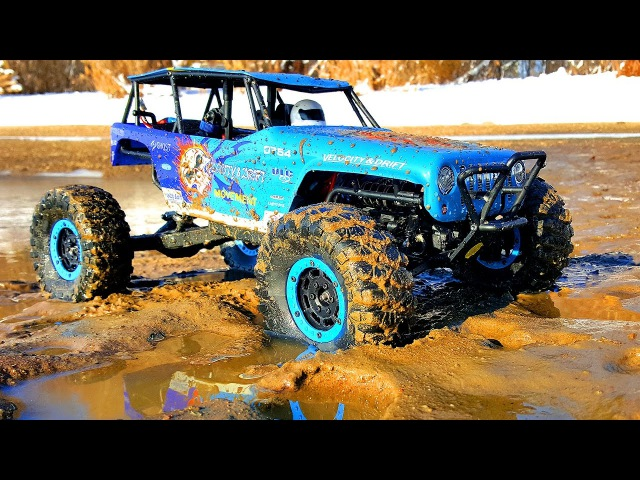 $165 for Axail Wraith or Vaterra Twin Hammers — Test Drive RC Car WLtoys Track – Mud, Stones, Sands