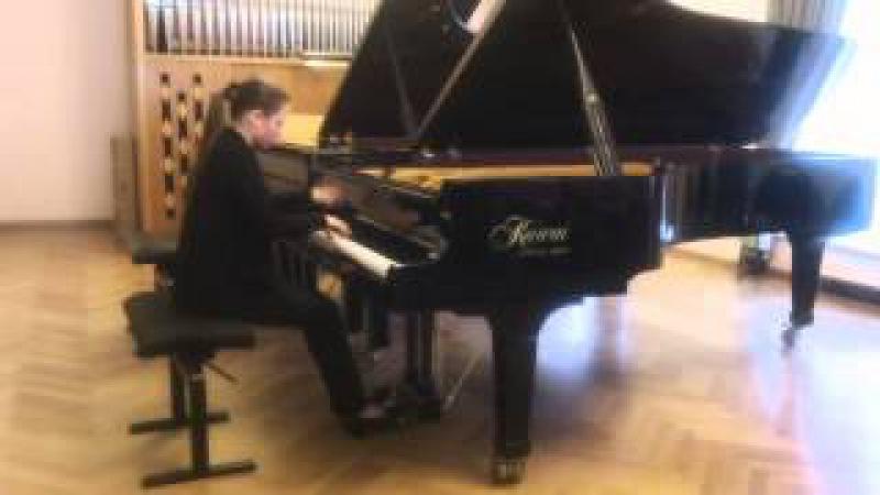 Liszt - S.139 n.4 - Etude Mazeppa - Marina Yakhlakova