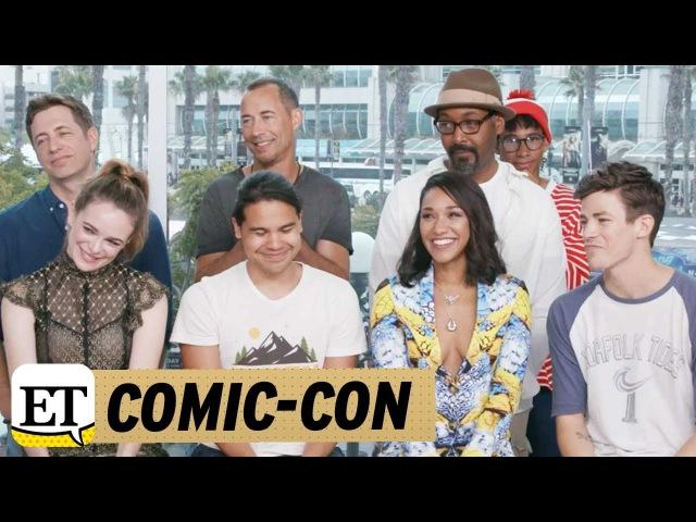 Comic Con 2017 'Flash' Stars Dish on WestAllen Wedding Iris Becomes 'Leader' for Team Flash in S…