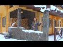 Баня-гостевой дом из клееного бруса. Конструктив FORUMHOUSE