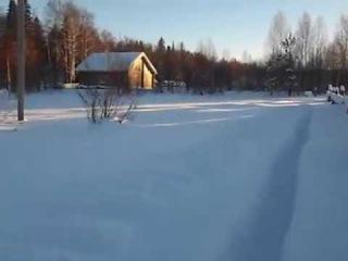 Зимовка пчёл на улице , под снегом при минус 30  , 40  (несколько осмотров) 2017