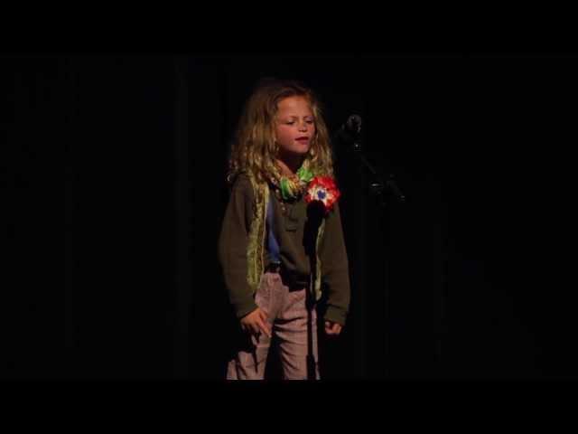 Gavroche, Little People, from Les Miserables - Sofia Rosinsky age 6, sings Gavroche
