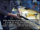 Герметизация электрического кабеля скважинного насоса с помощью термоусадочно...