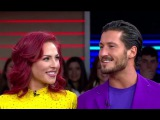 Dancing With the Stars Val Chmerkovskiy, Sharna Burgess Interview