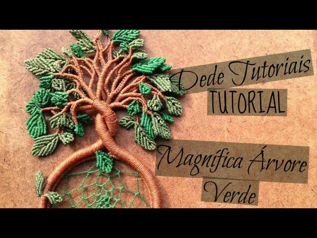 Dede Tutoriais | Como fazer a Magnífica Árvore Verde 30