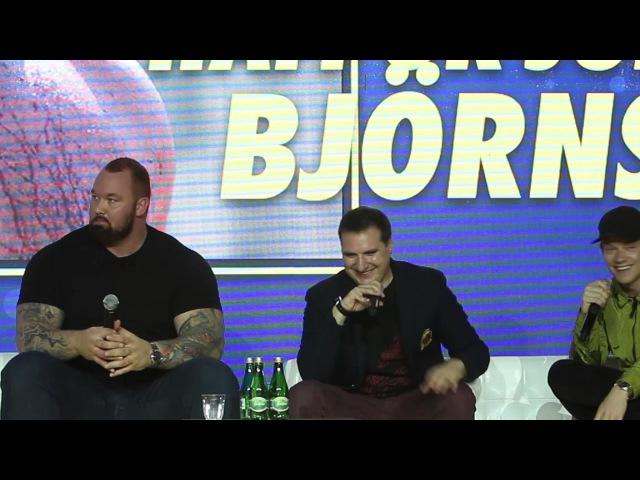Warsaw Comic Con: QA z Alfie Allen i Hafþór Júlíus Björnsson / Game of Thrones (04.06.2017)