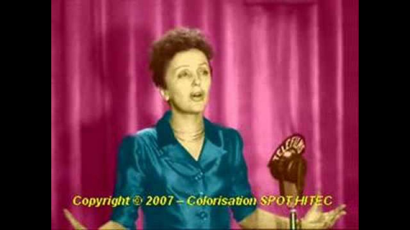 Edith Piaf - L'Hymne a l'Amour en couleur